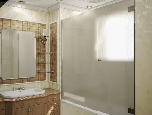 Ванная в классическом стиле интерьер